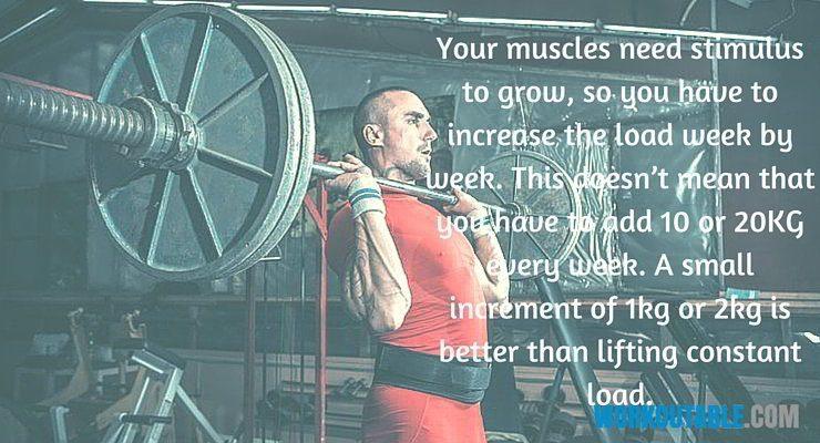 first training varible workout intensity