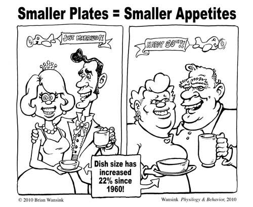 small plate calorie control